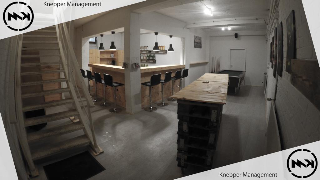 Hauseigene Kellerbar von Mathieu Knepper