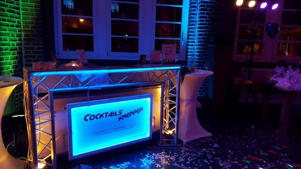 Knepper Management - Mobile Cocktailbar in der Alten Lohnhalle Wattenscheid