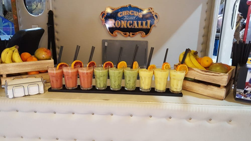 Smoothies bei Roncalli