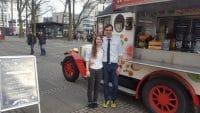 Mathieu Knepper und Michelle mit Smoothies