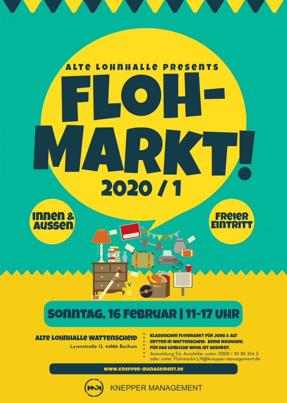 Knepper Management - Flohmarkt Premiere