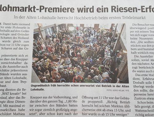 Flohmarkt-Premiere wird ein Riesen-Erfolg (20/1)