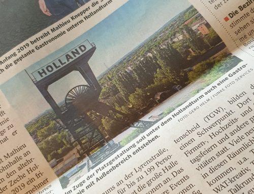 WAZ – Hollandturm: Gastronomie geplant