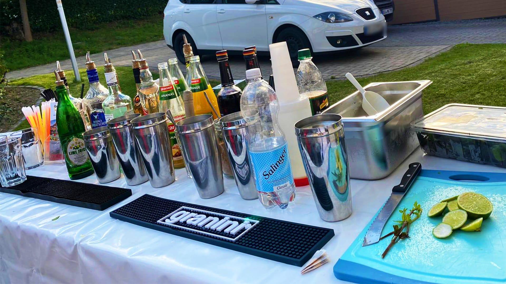 Cocktails Knepper - Cocktailkurs in NRW -Cocktailkurse- mobil, draußen und richtig lecker!