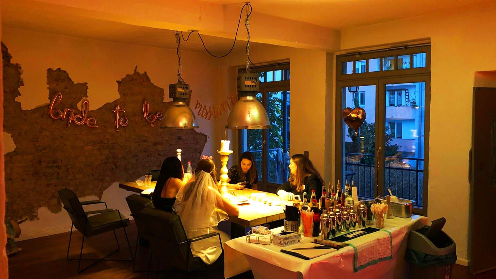 Gemütlicher Cocktailkurs in Düsseldorf (1)