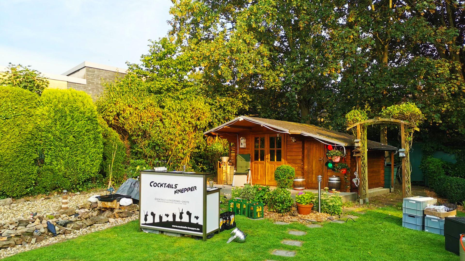 Grillservice Knepper - Grillfest in Hattingen - Gartenfeier mit Buffet und Cocktails (1)