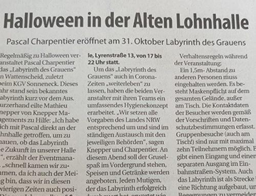 Stadtspiegel Wattenscheid – Halloween in der Alten Lohnhalle