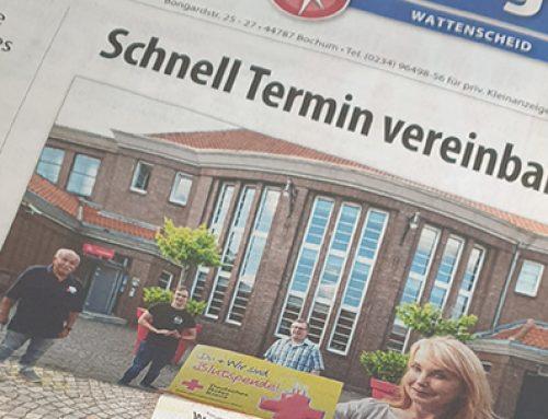 Stadtspiegel Wattenscheid – Spenden im Ballsaal