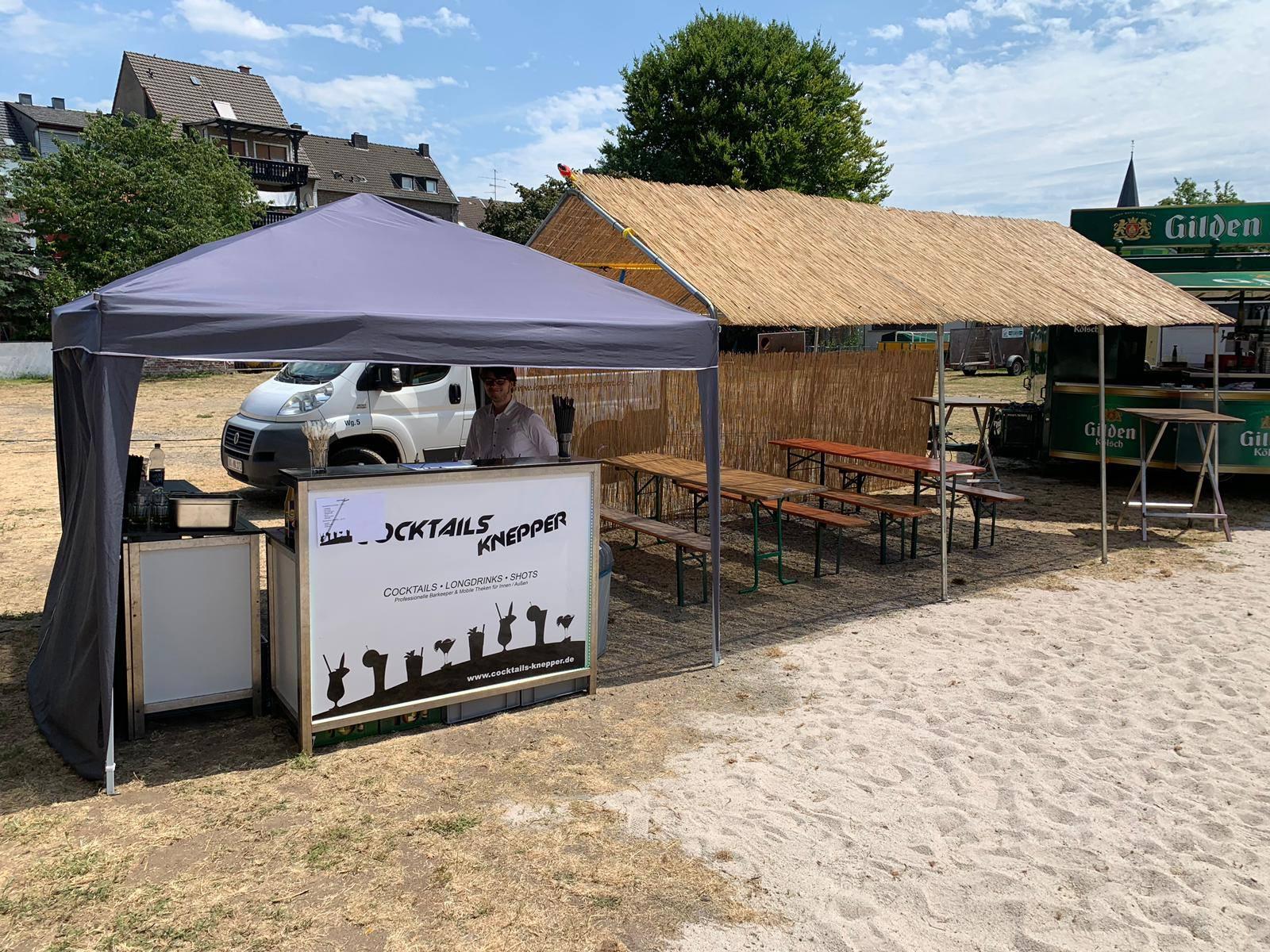 Cocktails Knepper - mobile Cocktailbar in NRW - Schützenfest mit beach-feeling (4)