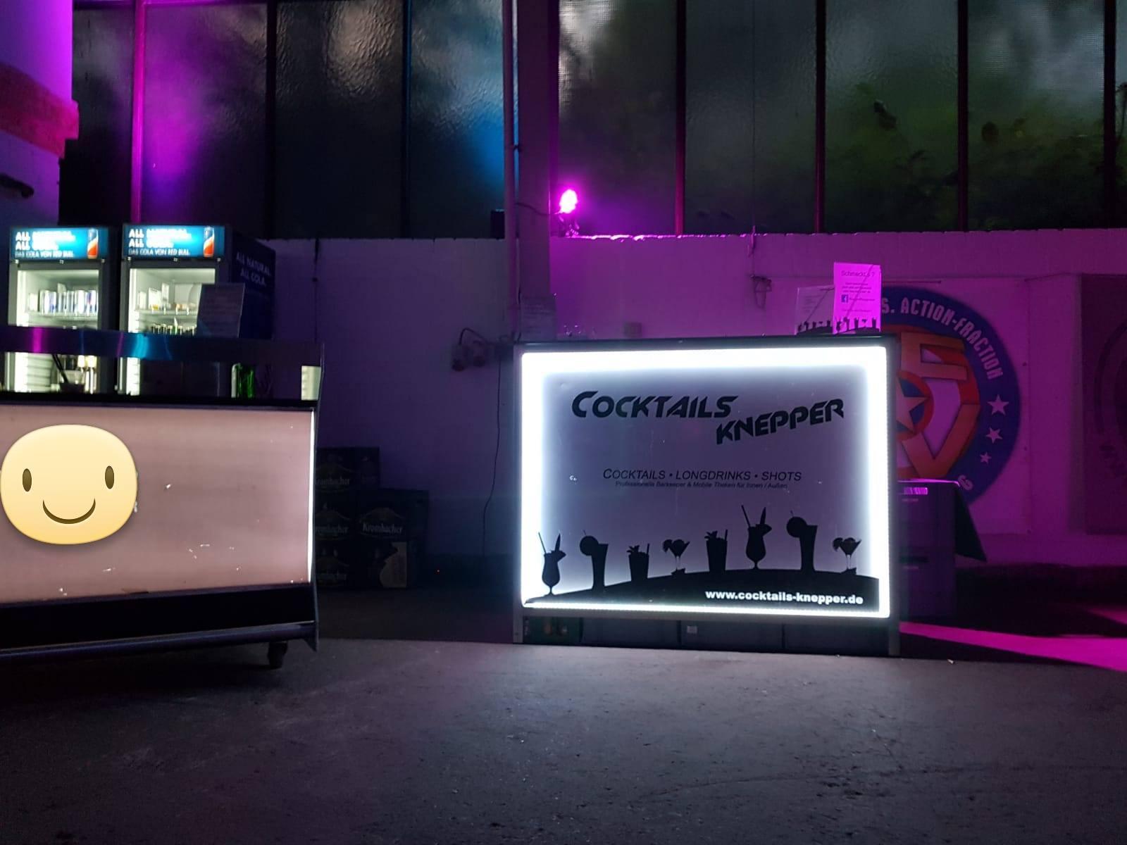 Cocktails Knepper - mobile Cocktailbar in Wattenscheid - Zusammen mit der Partyfraktion (1)